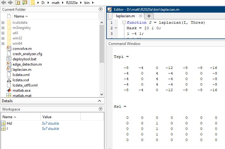 Cara Melakukan Operator Laplacian Of Gaussian