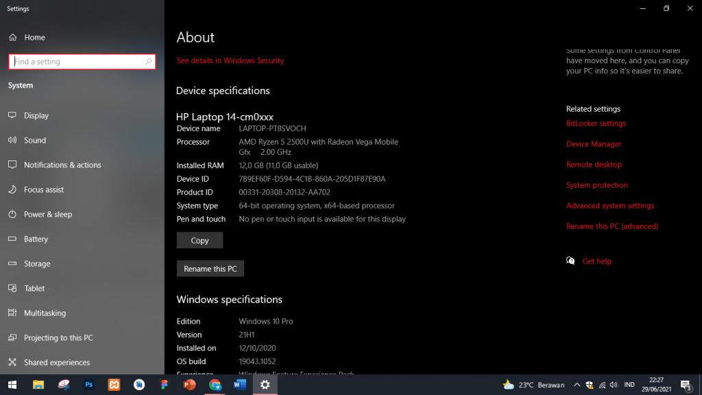 2 Cara Mudah Melihat Versi Windows Pada Laptop / PC