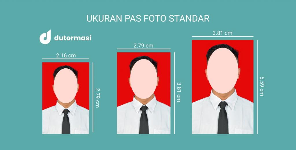 Ukuran Pas Foto 2x3, 3x4, 4x6 Sesuai Standar yang Digunakan